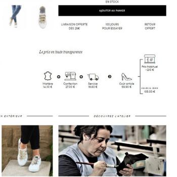 Transparence du site e-commerce Jules&Jenn