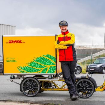 La livraison écologique DHL