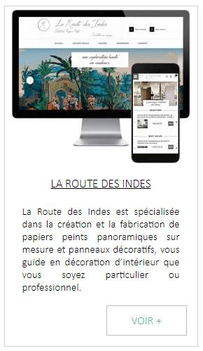 Création site internet de papiers peints décoratifs