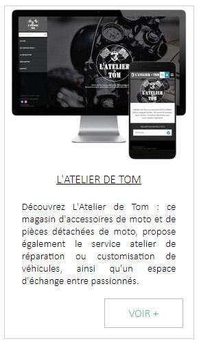 logiciel caisse et site vitrine pour magasin accessoires et pieces de moto
