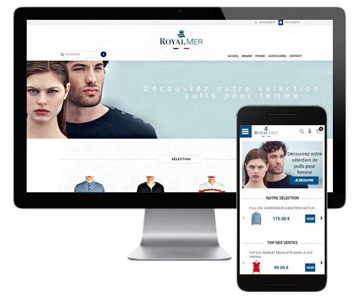 Cr ation de site internet pr t porter l 39 agence e commerce - Site de pret a porter americain ...