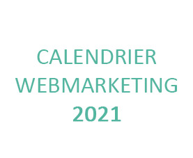calendrier webmarketing agence e-commerce